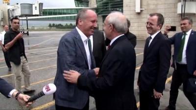 Kılıçdaroğlu ve İnce, havalimanında karşılaştı - ANKARA