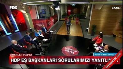 HDP'lilere canlı yayında zor soru