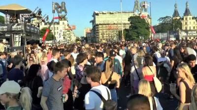 Kopenhag sokaklarında müzik festivali - KOPENHAG