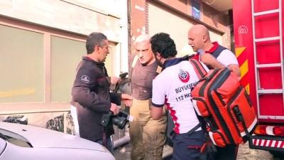 Fatih'te iş hanında yangın - İSTANBUL