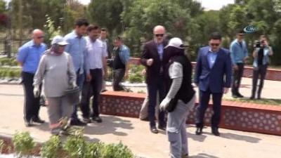 Türkiye'de ilk yaptırılan 15 Temmuz Şehitler Anıtı olma özelliği taşıyan alan genişletme çalışmaları tamamlanarak yeniden düzenlendi