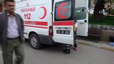 Yolcu midibüsü kaza yaptı: 7 yaralı