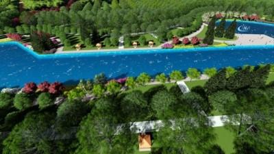 Cumhuriyet Üniversitesi içerisindeki bataklık ve sazlık Türkiye'nin en büyük kampüs havuzuna dönüştürülüyor