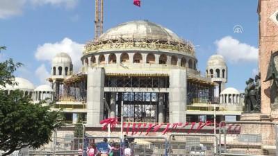 Taksim Camisi'nin kubbesi tamamlandı - İSTANBUL