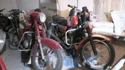 Gençlik tutkusu 'motosiklet'in koleksiyonunu yapıyor - KARAMAN