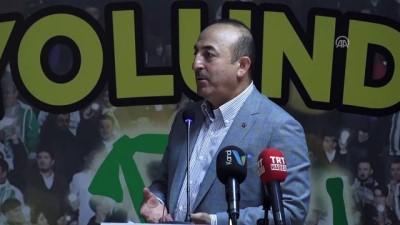 """Çavuşoğlu: """"Türkiye ekonomisi büyümeye devam edecek"""" - ANTALYA"""