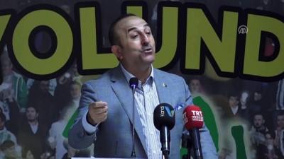 """Çavuşoğlu: """"Tarihi bir seçime gidiyoruz"""" - ANTALYA"""