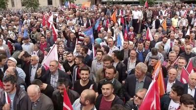Başbakan Yıldırım:'Ekonomik hamlelerle, Türkiye'ye ayar vermek isteyenlerin ayarını bozacağız' GİRESUN