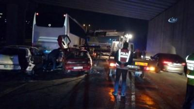 MHP Kocaeli Milletvekili Adayı kaza yaptı: 2 yaralı