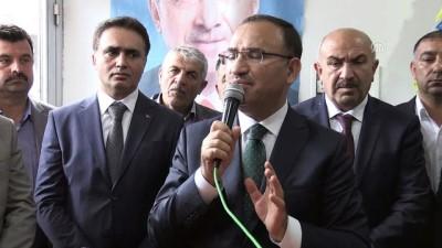 Bozdağ: 'Türkiye'de ekonomik olarak her şey yolundadır ve hükümetimizin kontrolündedir' - YOZGAT