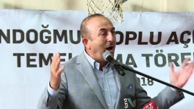 Dışişleri Bakanı Çavuşoğlu: 'İnsan odaklı siyaset yapıyoruz' - ANTALYA