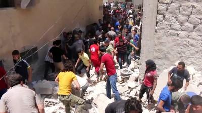 Suriye'nin kuzeyinde patlamalar meydana geldi - ERİHA