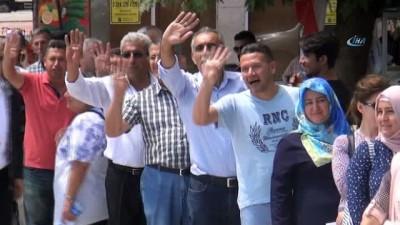 AK Partililerden Cumhurbaşkanına maddi destek