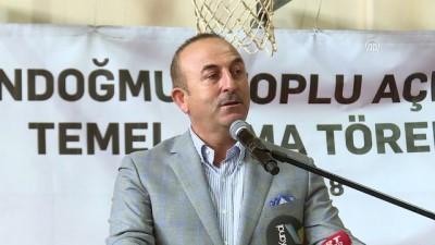 Dışişleri Bakanı Çavuşoğlu: 'Dünya sussa Recep Tayyip Erdoğan susmaz' - ANTALYA
