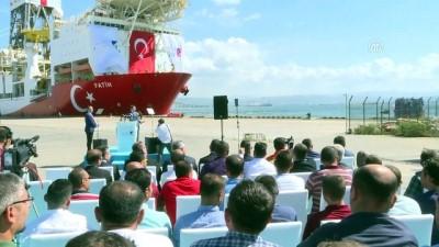 Sondaj gemisi Fatih, Akdeniz'e uğurlandı - KOCAELİ