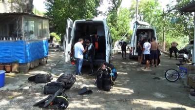 Manavgat ırmağında kaybolan Samet'in cesedi 13'üncü günde bulundu