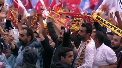 Cumhurbaşkanı Erdoğan: 'Bizim siyasetimiz, daima hizmet siyaseti olmuştur' - MALATYA