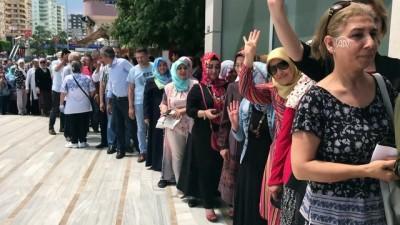 Cumhurbaşkanı Erdoğan'ın seçim kampanyasına bağış desteği - MERSİN