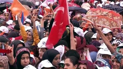 Cumhurbaşkanı Erdoğan: 'Muharrem efendi sen yönetilensin, biz yöneten' - MALATYA