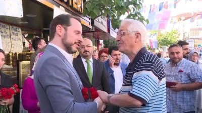 Bakan Albayrak'tan esnaf ziyareti - İSTANBUL