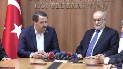 Karamollaoğlu: 'Parlamento, cumhurbaşkanını denetleyecek güçte olmalı' - ANKARA