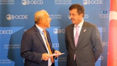 - OECD İstanbul'a Merkez Açıyor - Bakan Zeybekci İle OECD Genel Sekreteri Angel Gurria Mutabakat Zaptını İmzaladı