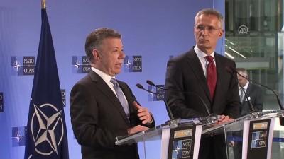 Calderon-Stoltenberg ortak basın toplantısı - BRÜKSEL