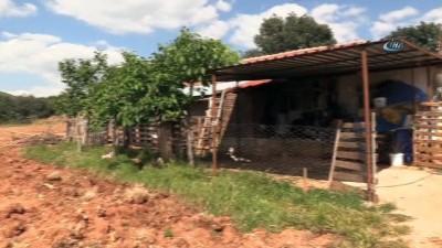 - Taşçı ailesi, kendilerine uzanacak yardım eli bekliyor - Yerleşim yeri dışında yıkılmak üzere olan evde yaşam savaşı veriyorlar