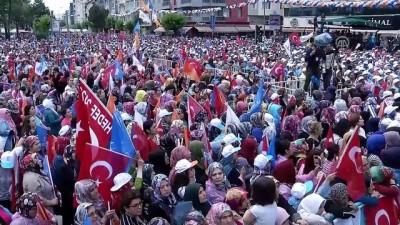Başbakan Yıldırım: 'Bunlar sadece bir şeye kilitlenmişler. Erdoğan ve AK Parti gitsin de Türkiye ne olursa olsun' - UŞAK