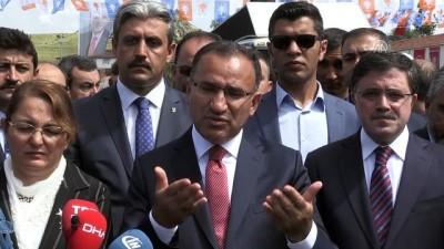 Bozdağ: ''Türk halkı büyükelçilerin istediğini cumhurbaşkanı seçmez' - YOZGAT