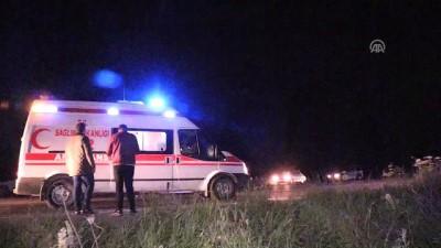 Yolcu otobüsü şarampole devrildi: 7 yaralı - ERZİNCAN