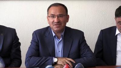 Bozdağ: 'Kılıçdaroğlu 9 defadır maçı kaybediyor takımı bırakmıyor' - YOZGAT