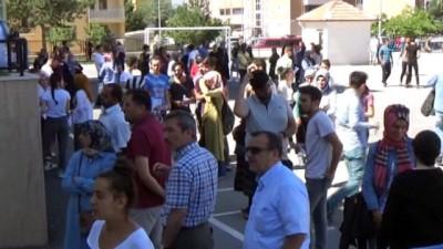 Erzincan'da YKS'ye geç kalan öğrenciler sınava alınmadı