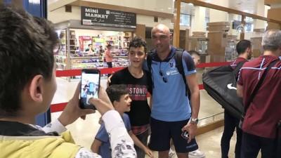 Trabzonspor kafilesi Slovenya'ya gitti - TRABZON