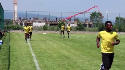 Yeni Malatyaspor'un Bolu kampı