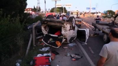 Uşak'ta kamyon kırmızı ışıkta araçları biçti: 1 ölü, 18 yaralı