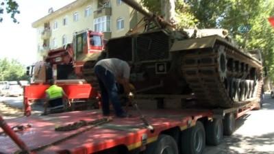 15 Temmuz'un simge tankı anıtlaştırılıyor