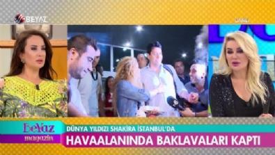 Dünya yıldızı Shakira, İstanbul'da