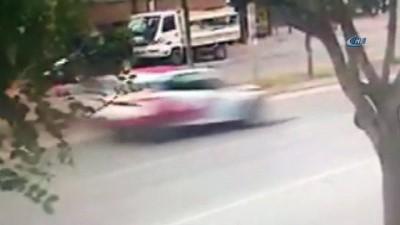 Aracıyla çarptığı kadının ölümüne sebep olan sürücü olay yerinden böyle kaçtı