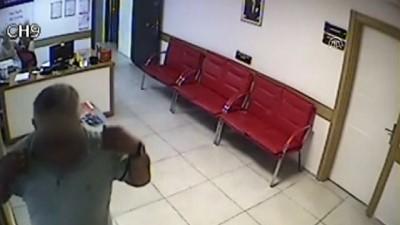 Hastanelerden hırsızlık yapan şüpheli tutuklandı - Güvenlik kamerası - ADANA