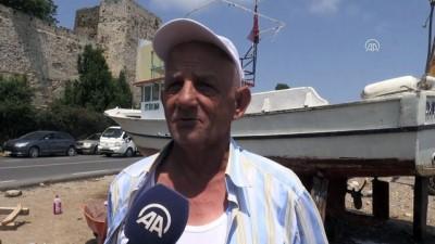Karadenizli balıkçıların yeni sezon mesaisi devam ediyor - SİNOP