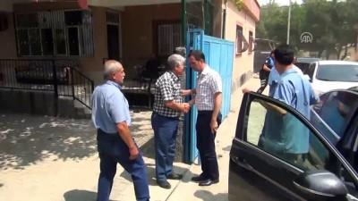 15 Temmuz şehidi Polis memuru Aytekin Kuru'nun kabrine ziyaret - ADANA