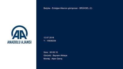 Erdoğan-Macron görüşmesi - Detaylar - BRÜKSEL