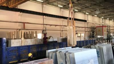 Doğal taş ihracatına başlandı - BAYBURT
