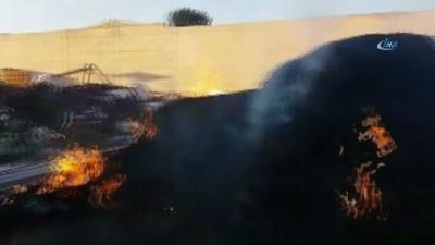 Kocaeli'de çiftlik yangını, çok sayıda itfaiye ekibi olay yerinde