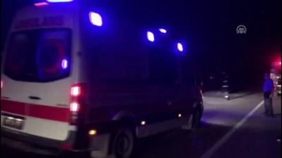 Çarpışan iki motosiklet alev aldı: 3 ölü, 1 yaralı - BURSA