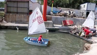 Bulgar yelkenciler şampiyonalara Türk sularında hazırlanıyor - TEKİRDAĞ
