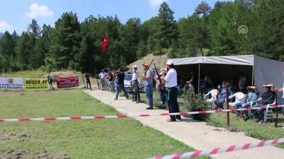 Mudurnu'da tek kurşun atış yarışması yapıldı - BOLU