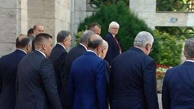 TBMM Başkanı Binali Yıldırım, MHP Genel Başkanı Devlet Bahçeli'yi kabul etti
