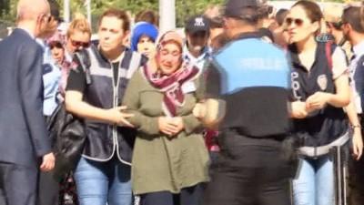 Şehit polis memuru için emniyette tören düzenlendi